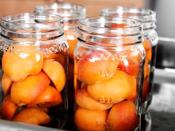 абрикосы в лёгком сиропе на зиму
