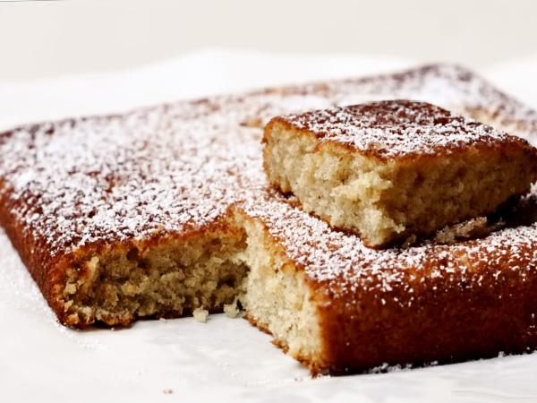 Банановый пирог рецепт с фото со сметаной