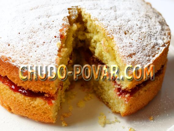 бисквитное тесто рецепт с фото