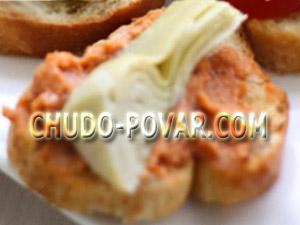 Бутерброды для праздничного стола с паштетом фото