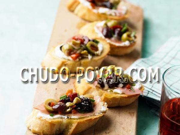 бутерброды на день рождения рецепты с фото