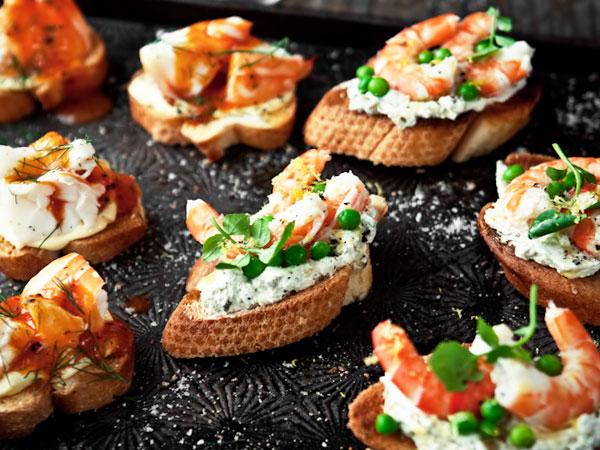 вкусные и простые бутерброды к празднику