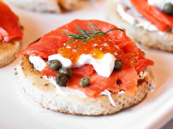 Бутерброды с сёмгой на праздничный стол рецепты с фото простые и вкусные