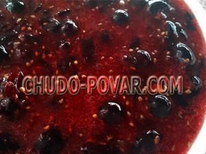 черная смородина протертая с сахаром