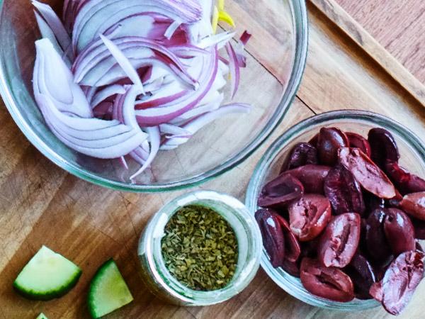 классический греческий салат состав