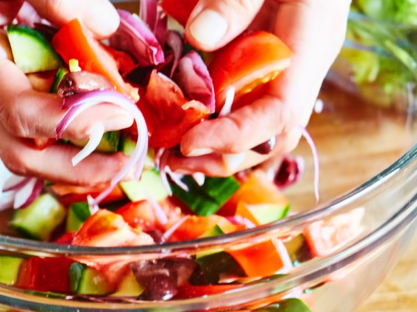 Салат греческий рецепт с фото очень вкусный пошаговый рецепт с фото