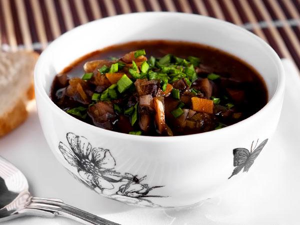 Как варить суп из свежих шампиньонов без мяса