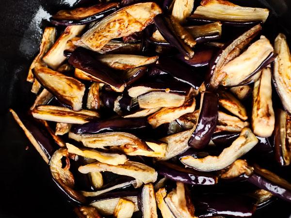 Баклажаны по-корейски жареные пошаговый рецепт с фото