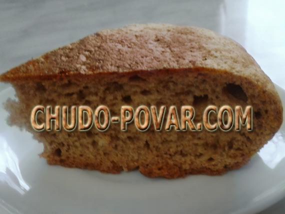 Хлеб в мультиварке рецепт с фото