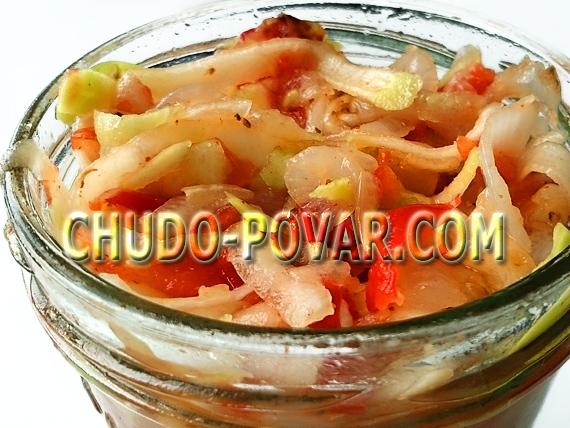 Кабачки по-корейски быстрого приготовления рецепт с фото