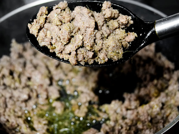Сколько жарить перемолотое мясо до готовности