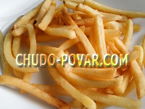 Как приготовить картофель фри в домашних условиях рецепт с фото