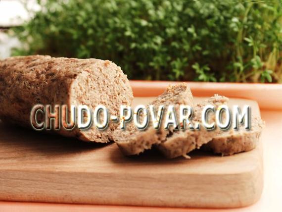 Как сделать колбасу из свинины в домашних условиях рецепт с фото