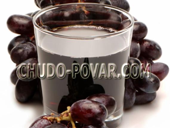 компот из винограда на зиму рецепт с фото