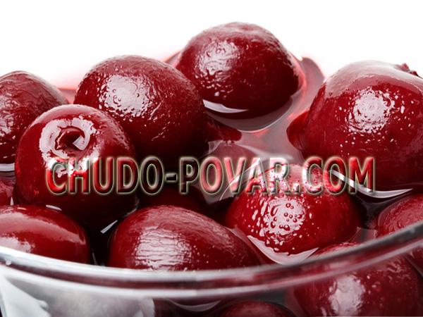 Компот из вишни на зиму рецепт с фото