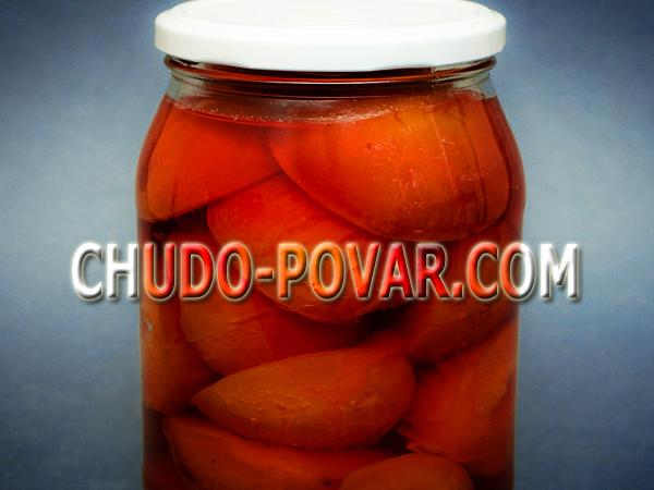 консервирование помидоров рецепт с фото
