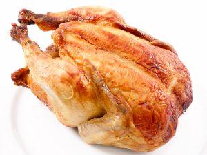 Курица запеченная в рукаве