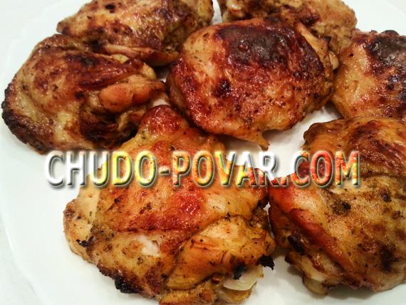 Куриные бёдрышки рецепт в духовке с фото