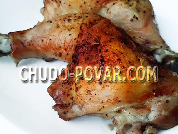 куриные окорочка в духовке рецепт с фото