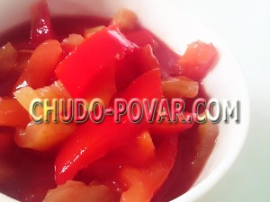 лечо из перца и помидор на зиму