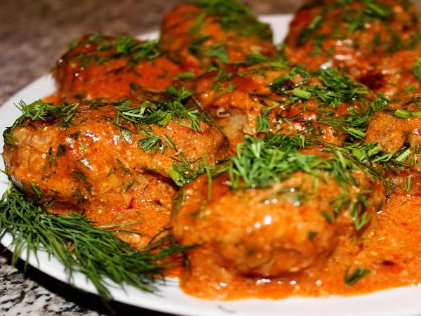 """Ленивые голубцы """"Ленивцы"""" – кулинарный рецепт"""