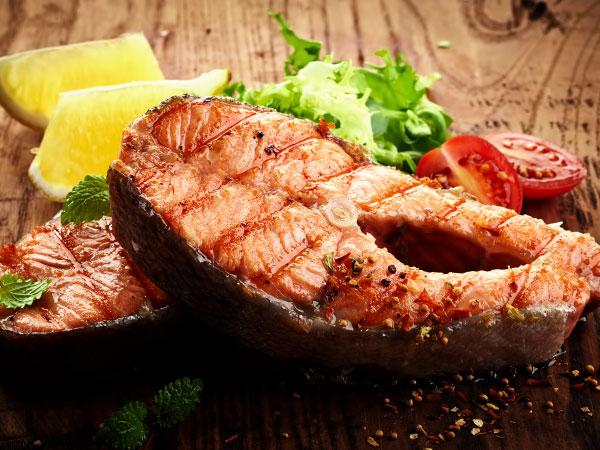 стейк из лосося в духовке рецепты с фото