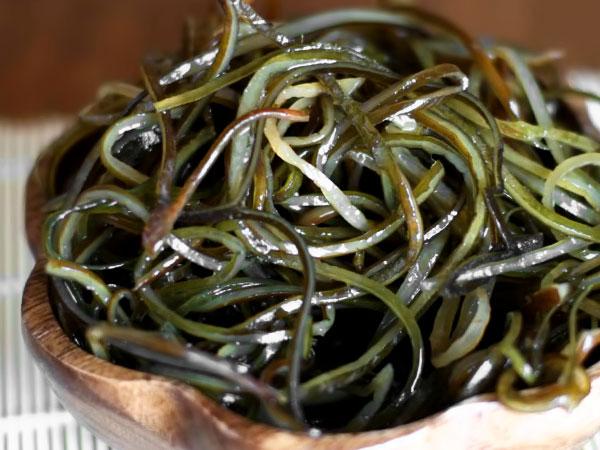 Как мариновать замороженную морскую капусту для салата