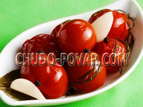 Маринованные помидоры на зиму рецепт с фото