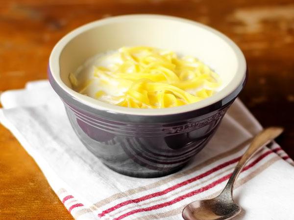 Молочный суп с вермишелью рецепт