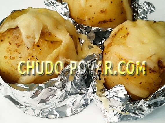 молодая картошка рецепт с фото