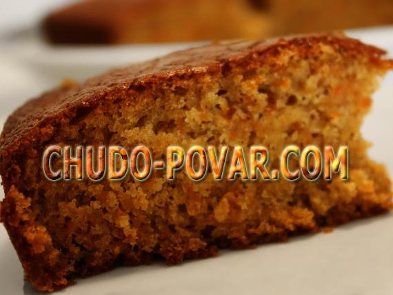 морковный пирог рецепт с фото