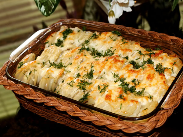 Мясо по-французски с картофелем классический рецепт с фото