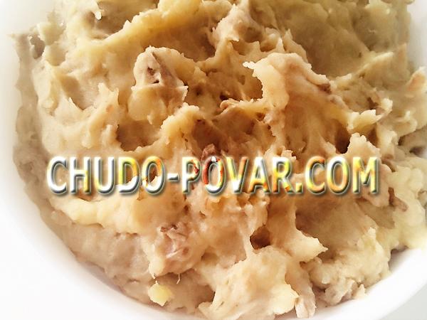Как приготовить вареники с картошкой и грибами и жареным луком