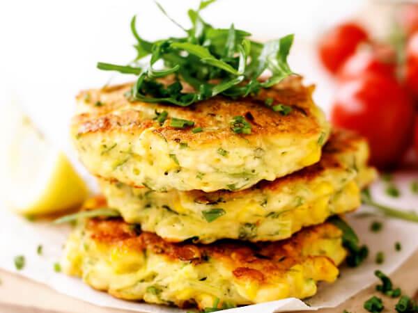 Оладьи из кабачков с сыром рецепт с фото