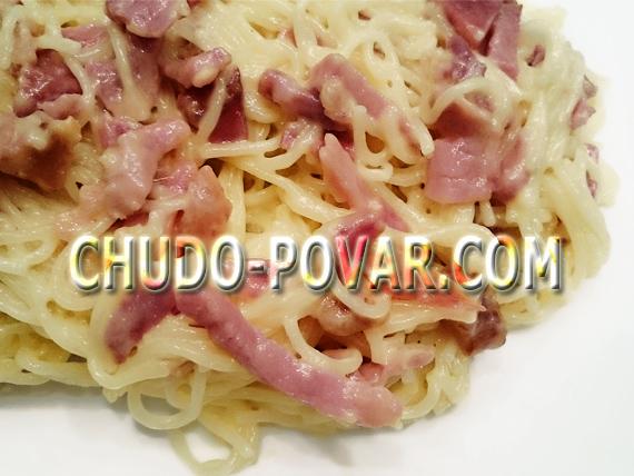 паста карбонара рецепт с фото