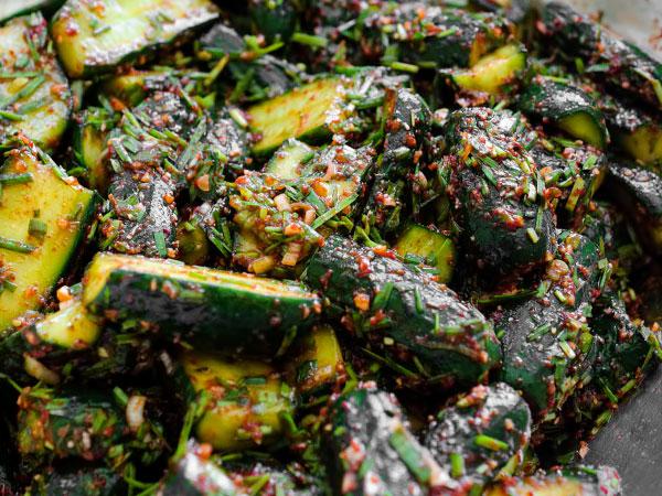Кимчи из огурцов по-корейски пошаговый рецепт