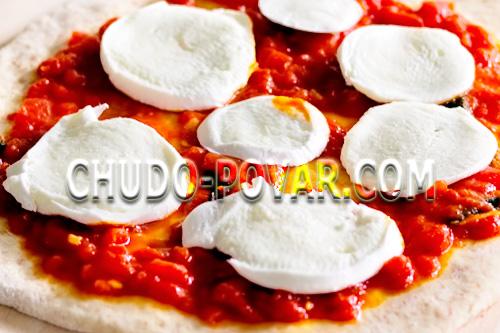 Начинка из Моцареллы для пиццы Маргарита