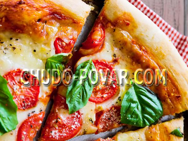Пицца Маргарита рецепт с фото пошагово