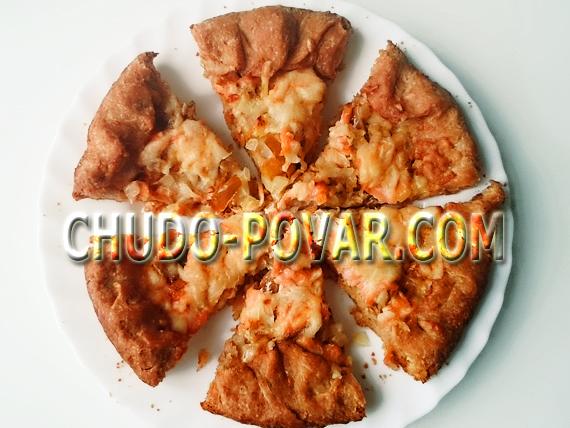 Пицца в духовке рецепт с фото