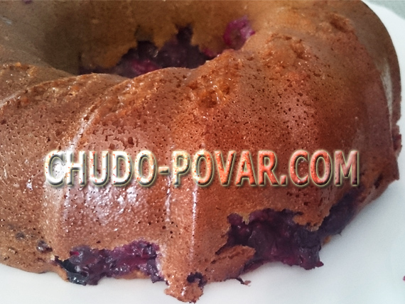 пирог с черной смородиной рецепт с фото