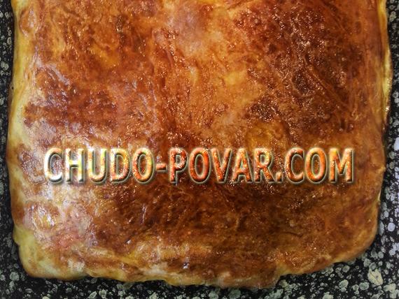 Пирог с сырой картошкой в духовке рецепт