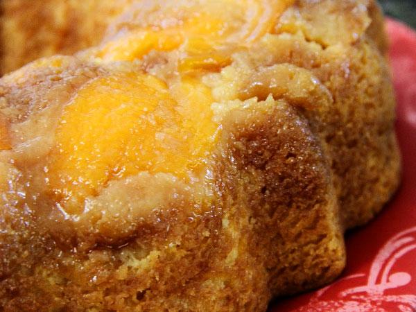 Пирог с персиками рецепт с фото