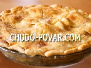 пирог с яблоками самый вкусный