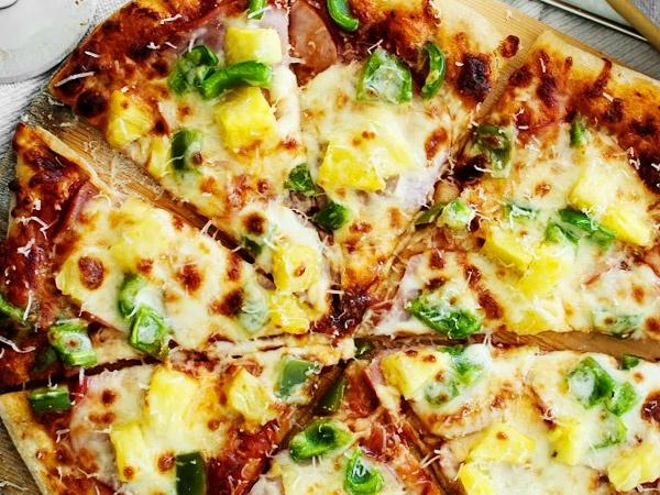 Тесто на кефире бездрожжевое для пиццы - рецепт с фото