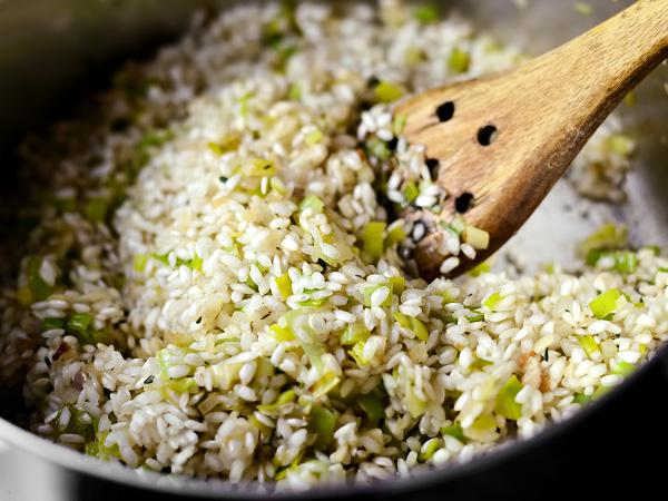 Как варить рис для ризотто