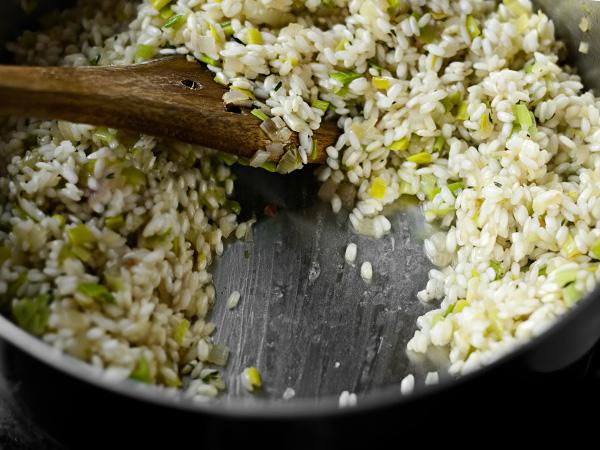 Ризотто рецепт с мясом, грибами и сыром
