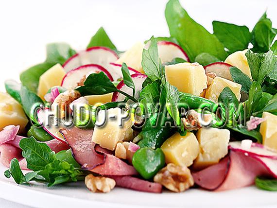 салат из редиски рецепт с фото