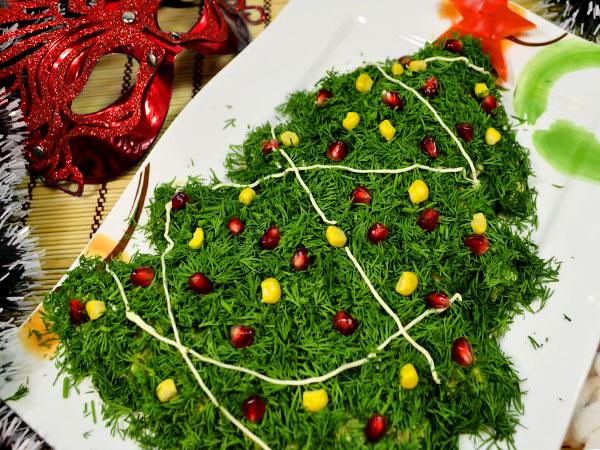 Салаты к Новогоднему столу 2020 — бесподобно вкусные рецепты | 450x600