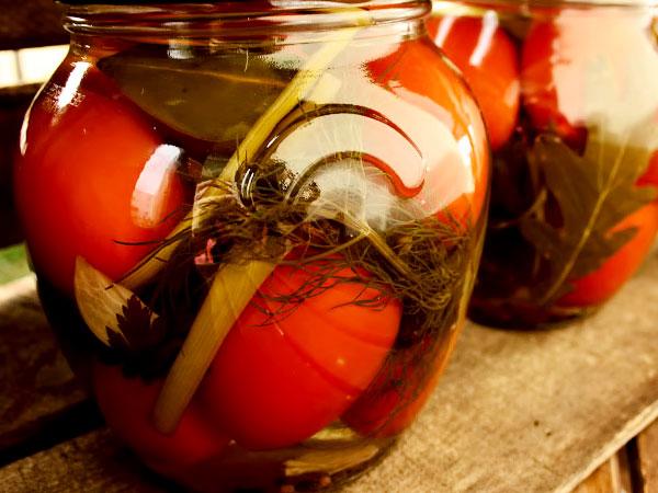 Рецепты вкусного маринада для помидор