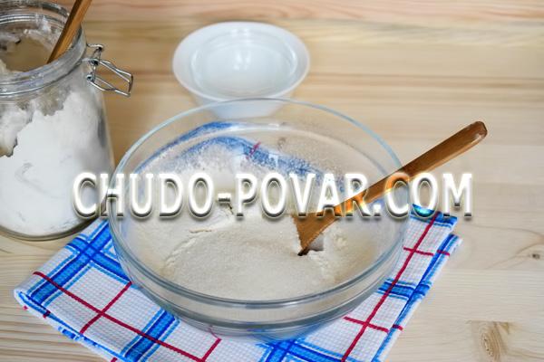 Печенье с кусочками шоколада: пошаговый рецепт